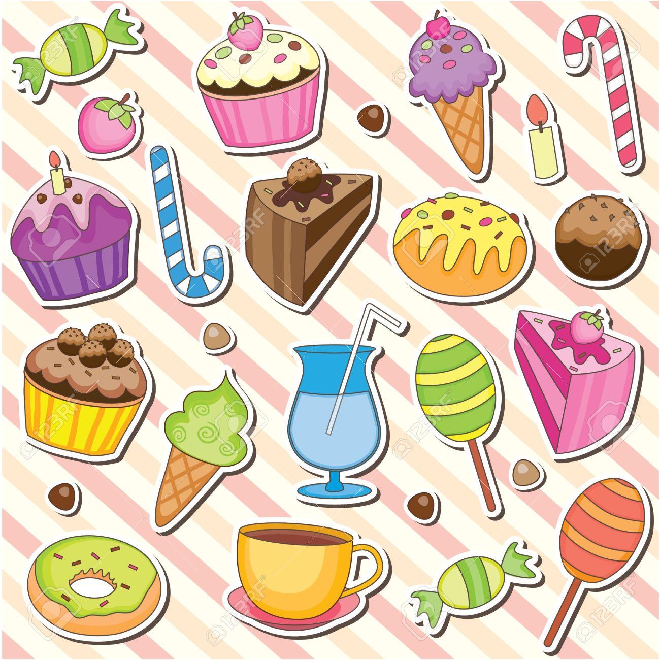 In The Desert clipart dessert tray Free Clip art Tray Sweet