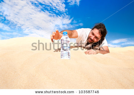 In The Desert clipart dry desert Man 35KB Thirsty 450x319 and
