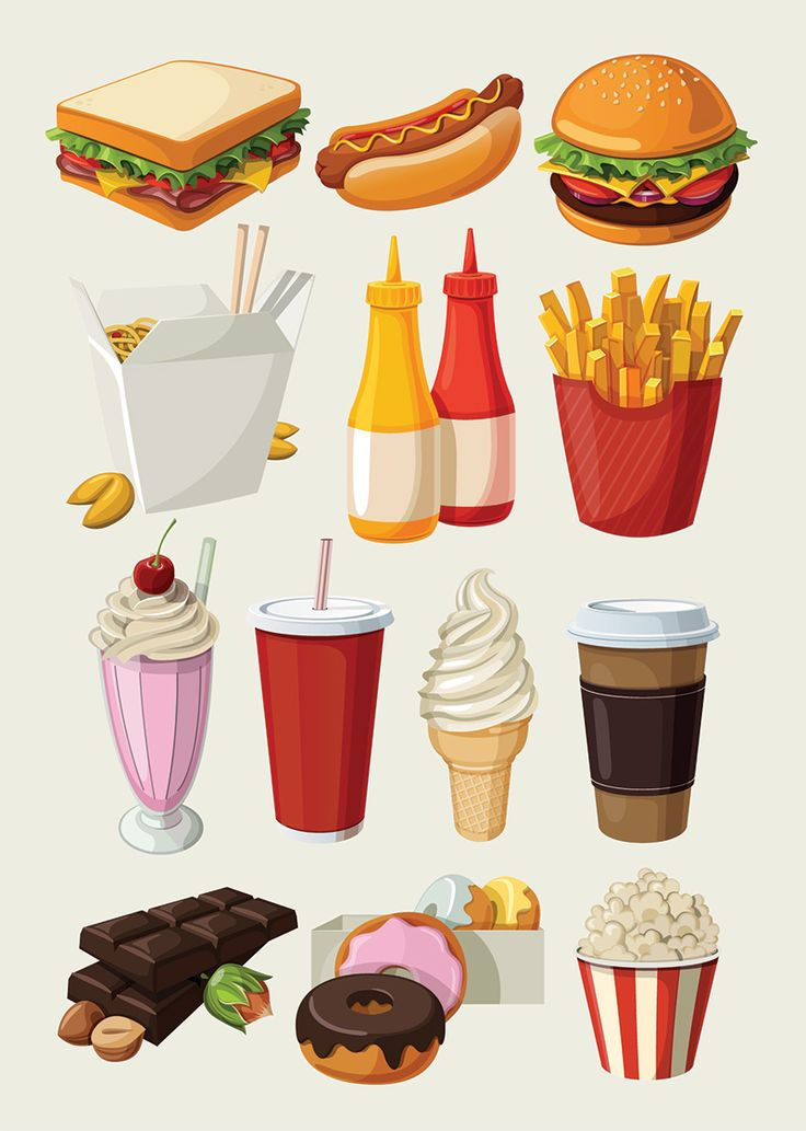 In The Desert clipart food item Colorful fast 25+ ideas food