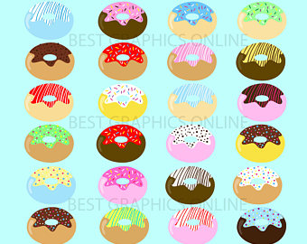 In The Desert clipart food item SALE use Donut Donuts Donuts
