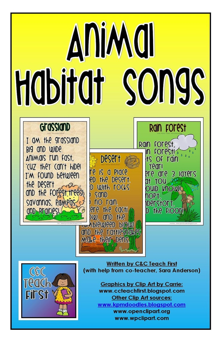 In The Desert clipart forest habitat Them Habitats and best in