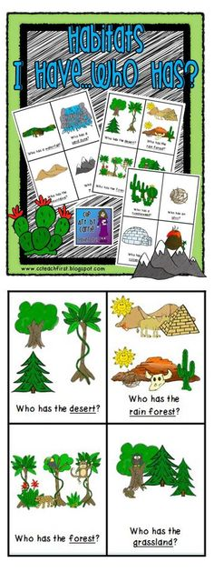 In The Desert clipart forest habitat Habitats: and Has Them I