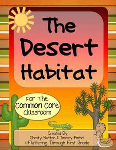 In The Desert clipart forest habitat … and Classroom for Pinteres…
