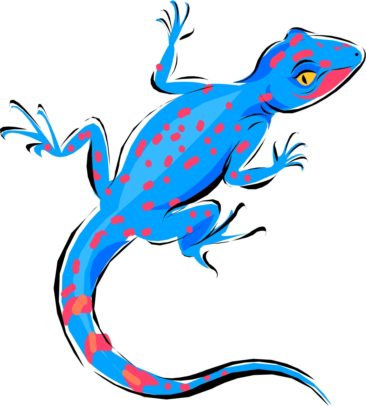 In The Desert clipart gecko Lizard Cartoon Download Clipart Clip