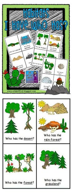In The Desert clipart grassland habitat Has Cards who school I