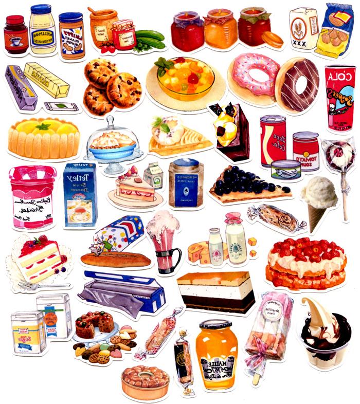 In The Desert clipart halloween food Sticker Stickers DIY Desert Alibaba