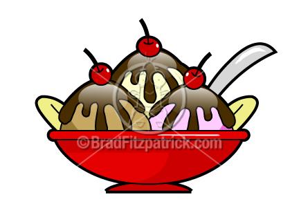 In The Desert clipart hot fudge sundae Sundae Sundae Sundae  Art