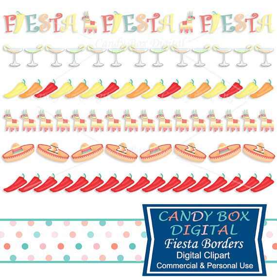 Decoration clipart mexico Peppers clipart CandyBoxDigital 20+