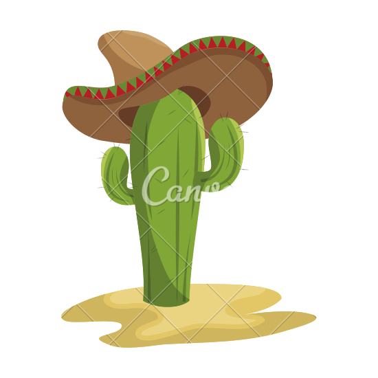 In The Desert clipart mexican cactus Cactus in Sketch Sketch in
