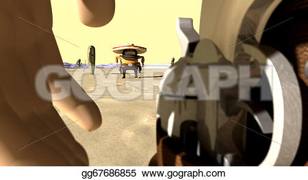 In The Desert clipart mexicano A cartoon standoff in with