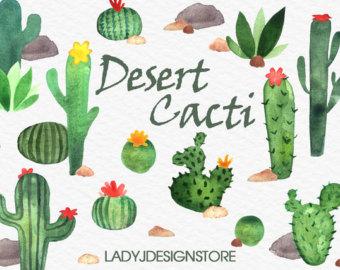 In The Desert clipart nopal For clipart Plants desert 17