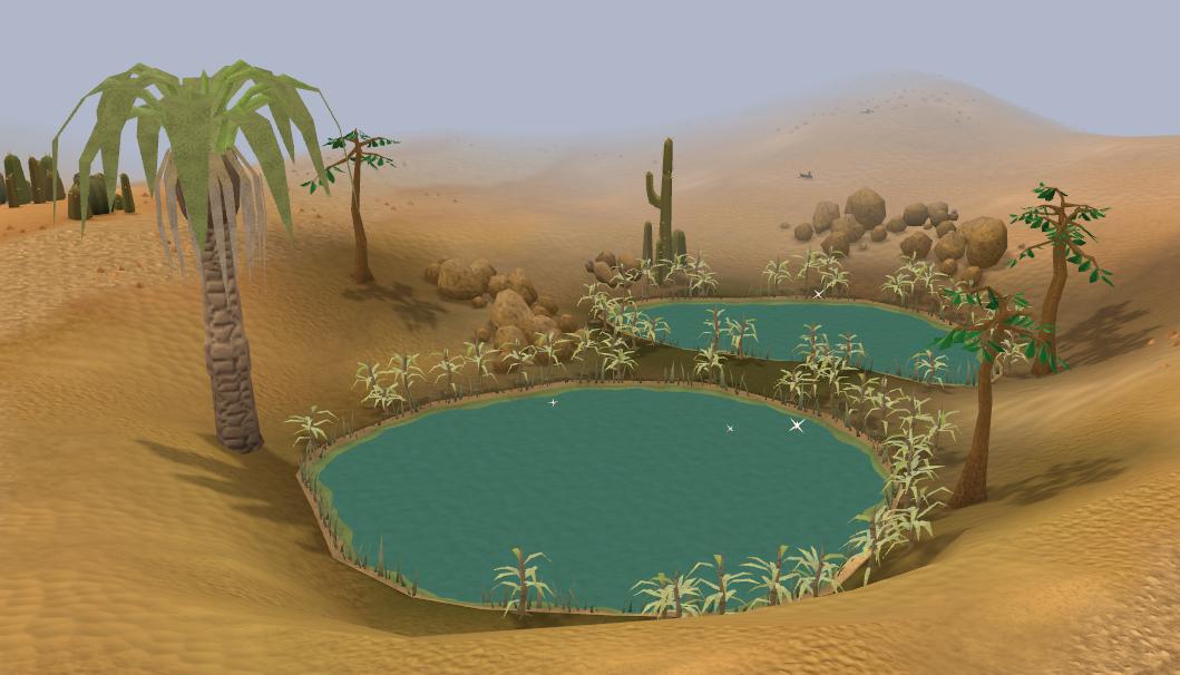 In The Desert clipart oasis Oasis Desert Wiki FANDOM by