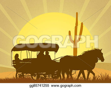 In The Desert clipart old west Of of wild in of
