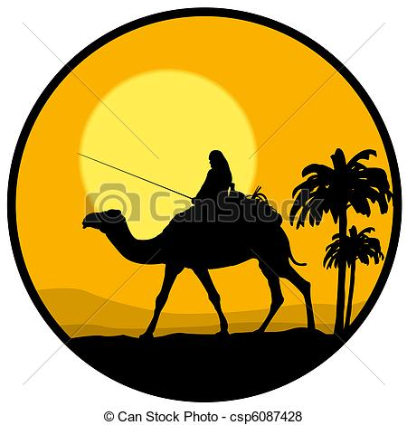 In The Desert clipart outline  and Stock and at