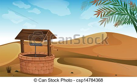 In The Desert clipart pathway Art desert csp14784368 well A