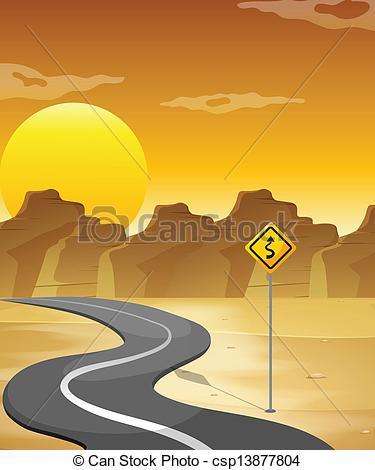 Curve clipart curvy road #3