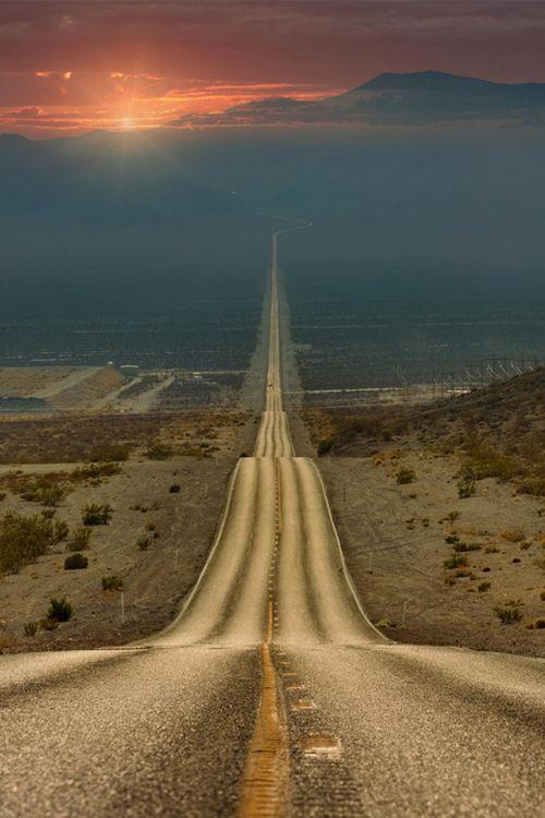 In The Desert clipart pathway Road Art Long – Long
