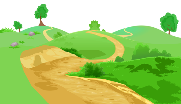 In The Desert clipart pathway Clipart Grounds Coverings 0 Grass
