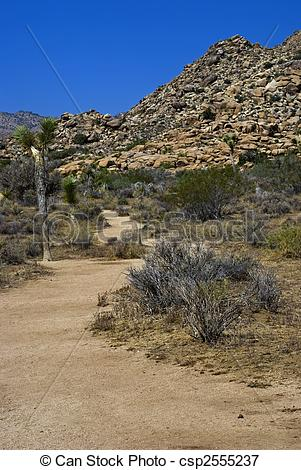 In The Desert clipart pathway A of Desert through Desert