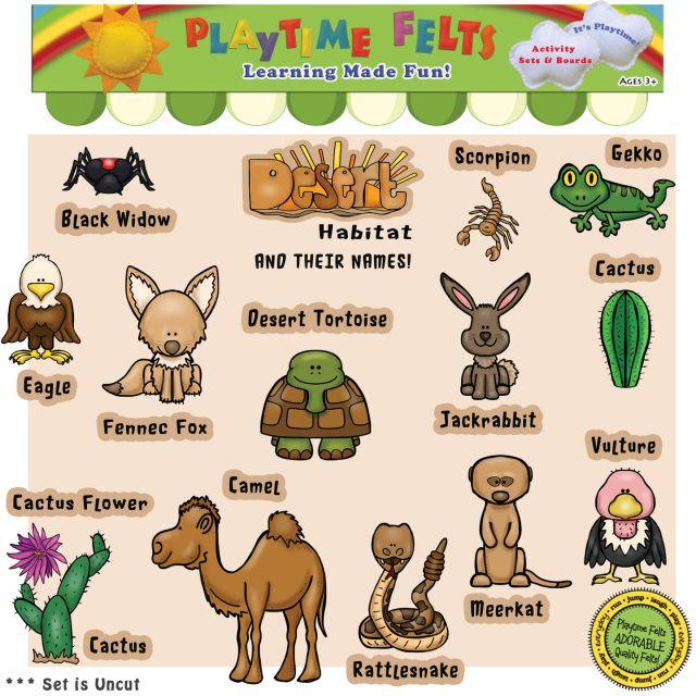 In The Desert clipart plants and animal Desert Names homeschool Best Their