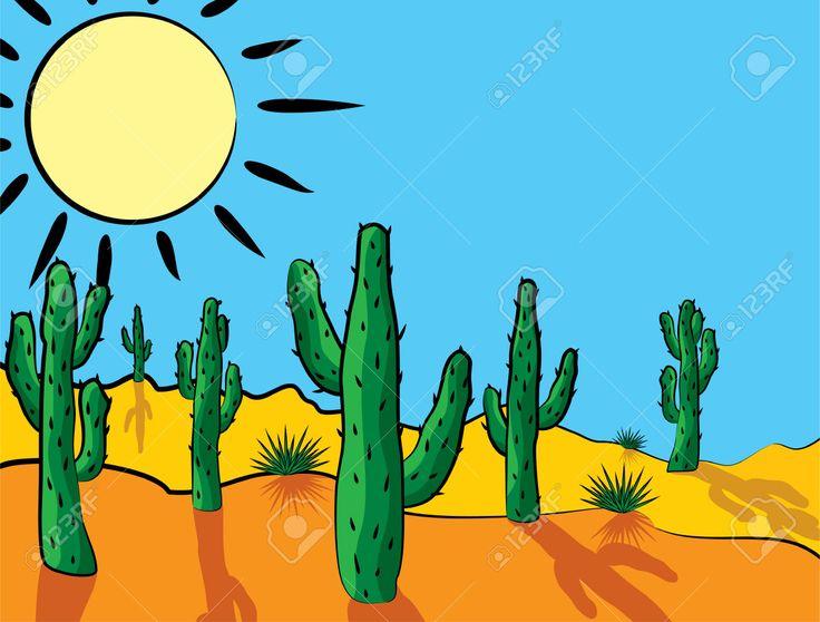 In The Desert clipart saguaro In images Desert Cactus Pinterest