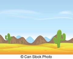 In The Desert clipart scenery Clip of in Landscape Desert