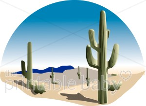 In The Desert clipart scenery Desert Cowboy Scenery Clipart Clipart