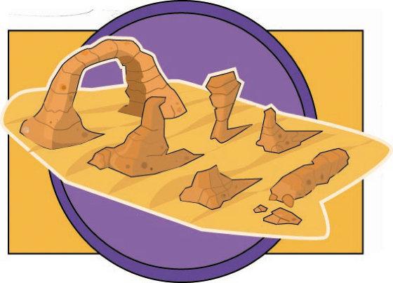 In The Desert clipart side dish ArtStation Roger Mitchell  Desert