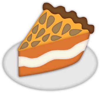 In The Desert clipart slice pie Art Dessert collection pie pictures