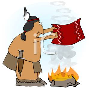 Aboriginal clipart smoke signal Indian Making Royalty Smoke Clipart