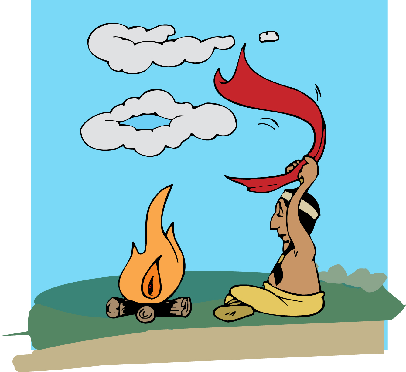 Aboriginal clipart smoke signal Which we in still situations