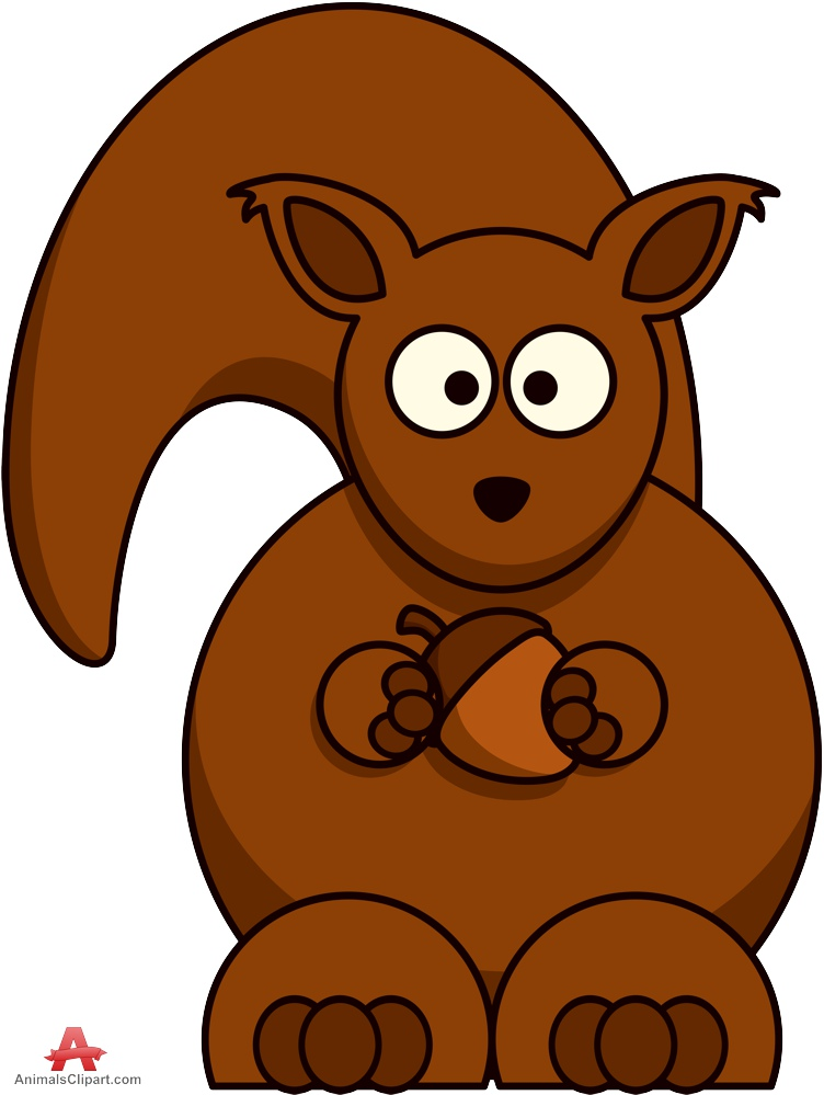 In The Desert clipart squirrel Holding Hand Nut Clipart Clipart