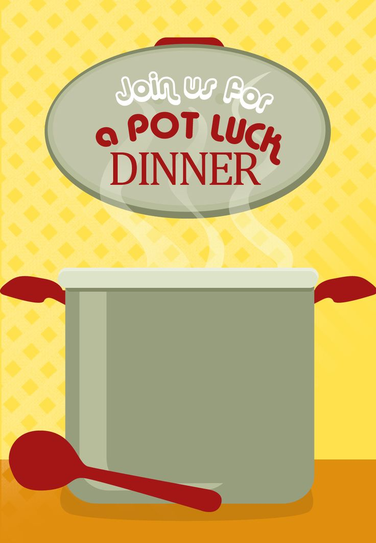 In The Desert clipart summer potluck About Dinner Pot Free Printable