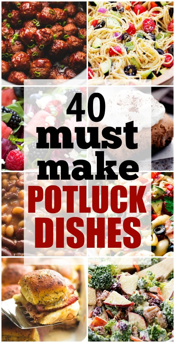 In The Desert clipart summer potluck Ideas Dishes Make 40+ Must
