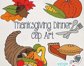 In The Desert clipart thanksgiving pie Pies Art Clip turkey Etsy