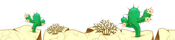 In The Desert clipart transparent 0 Clipart Grounds Coverings Gallery