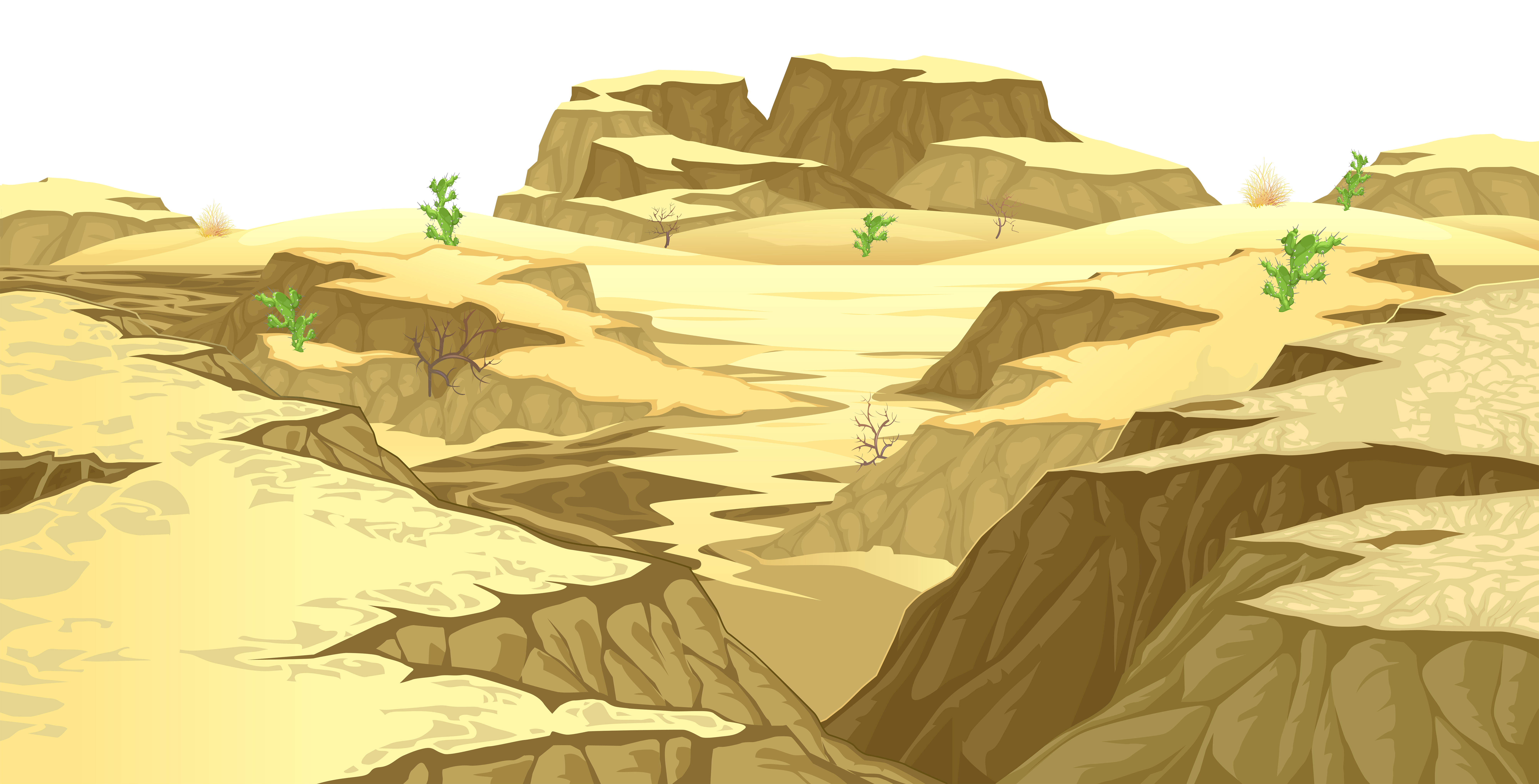 In The Desert clipart transparent Art Gallery full PNG Ground