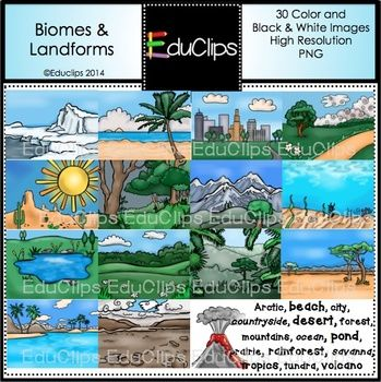 In The Desert clipart tundra biome Landforms best 1 Science Homeschool