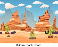 In The Desert clipart western background Tiliable background; Western desert background