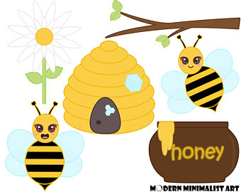 Bee Hive clipart spring Bee Etsy Spring Bee Bumble