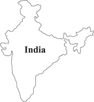 India clipart  1004 Map Maps for
