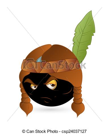 Indian clipart angry Indian Clipart angry Vector of