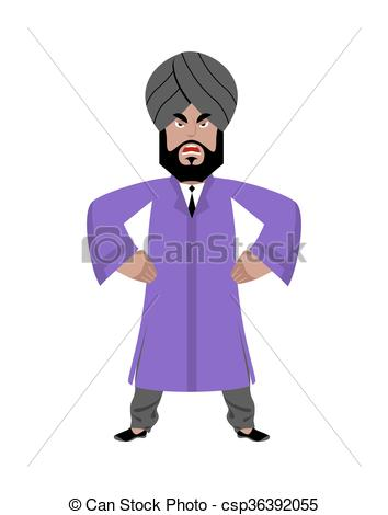 Indian clipart angry Angry Clipart clothes India national
