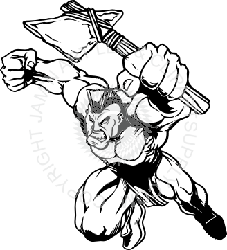 Indian clipart axe Indian up axe holding up
