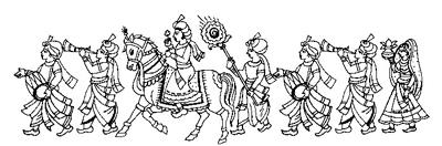 Indian clipart baraat Indian Art & DB Baraat