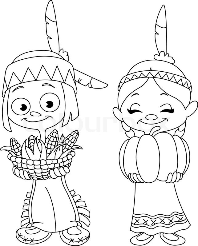 Indian clipart black and white Black Clipart White Clipart Group