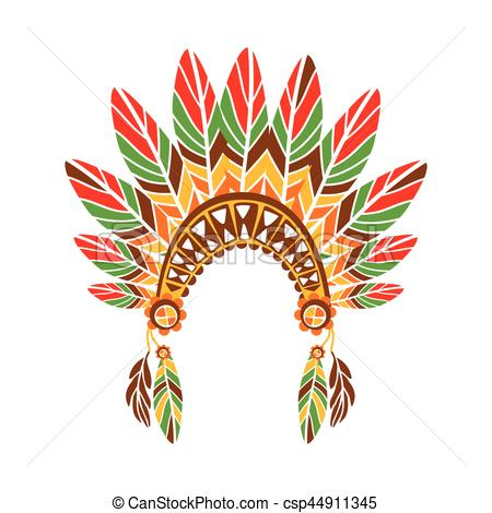 Indian clipart bonnet Csp44911345 Culture Indian Inspired Ethnic