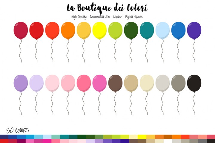 Indian clipart boutique / Clipart Balloon By La