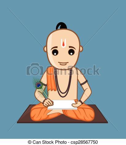 Indian clipart brahmin Indian Tulsidas Writer Ramayana of