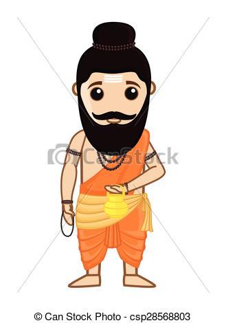 Indian clipart brahmin Vishvamitra Maharishi Saint  Maharishi